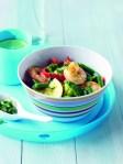 prawn, broccoli & green bean stirfry